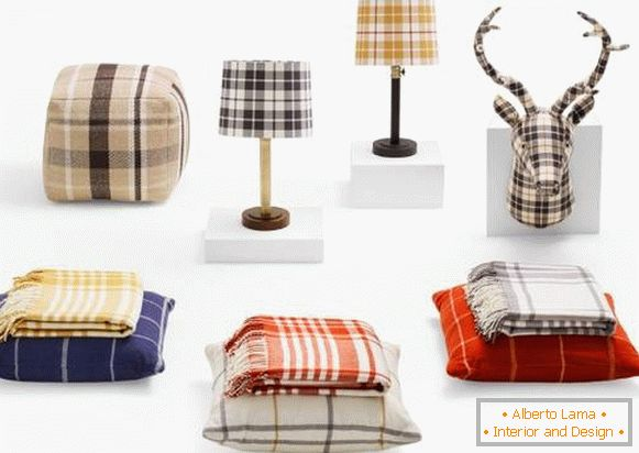 Trendovi za kuću: Plaid Home Decor od Target (jan 2015.)